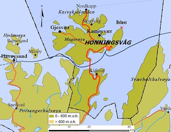 magerøya kart MANCAMONDO magerøya kart